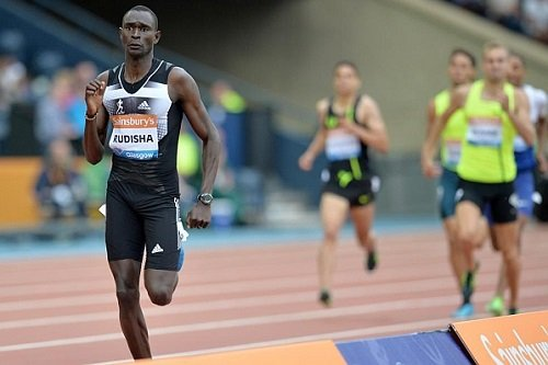 Brillante victoria de David Rudisha en una nueva jornada de la  IAAF Diamond League en Glasgow