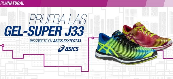 ASICS se va de gira con su modelo GEL-Super J 33 y el lema Mix Up Your Run