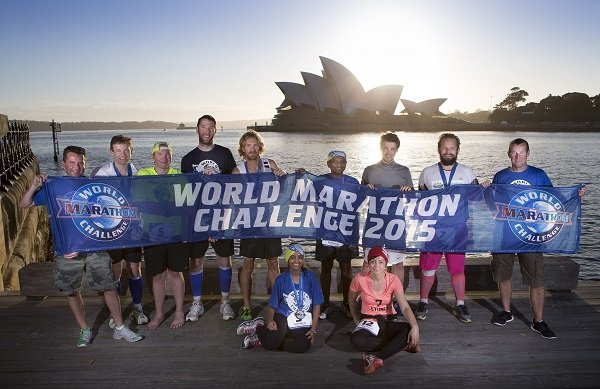 Fotos: World Marathon Challenge