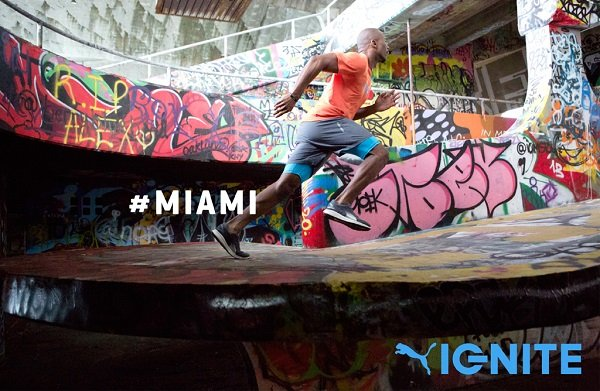 PUMA presenta el 2º episodio de Ignite Your City, con Miami y las zapatillas IGNITE como protagonistas