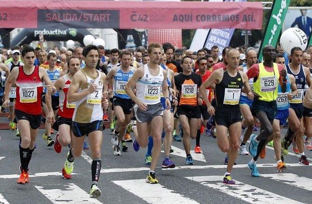 Foto media maraton marca 76